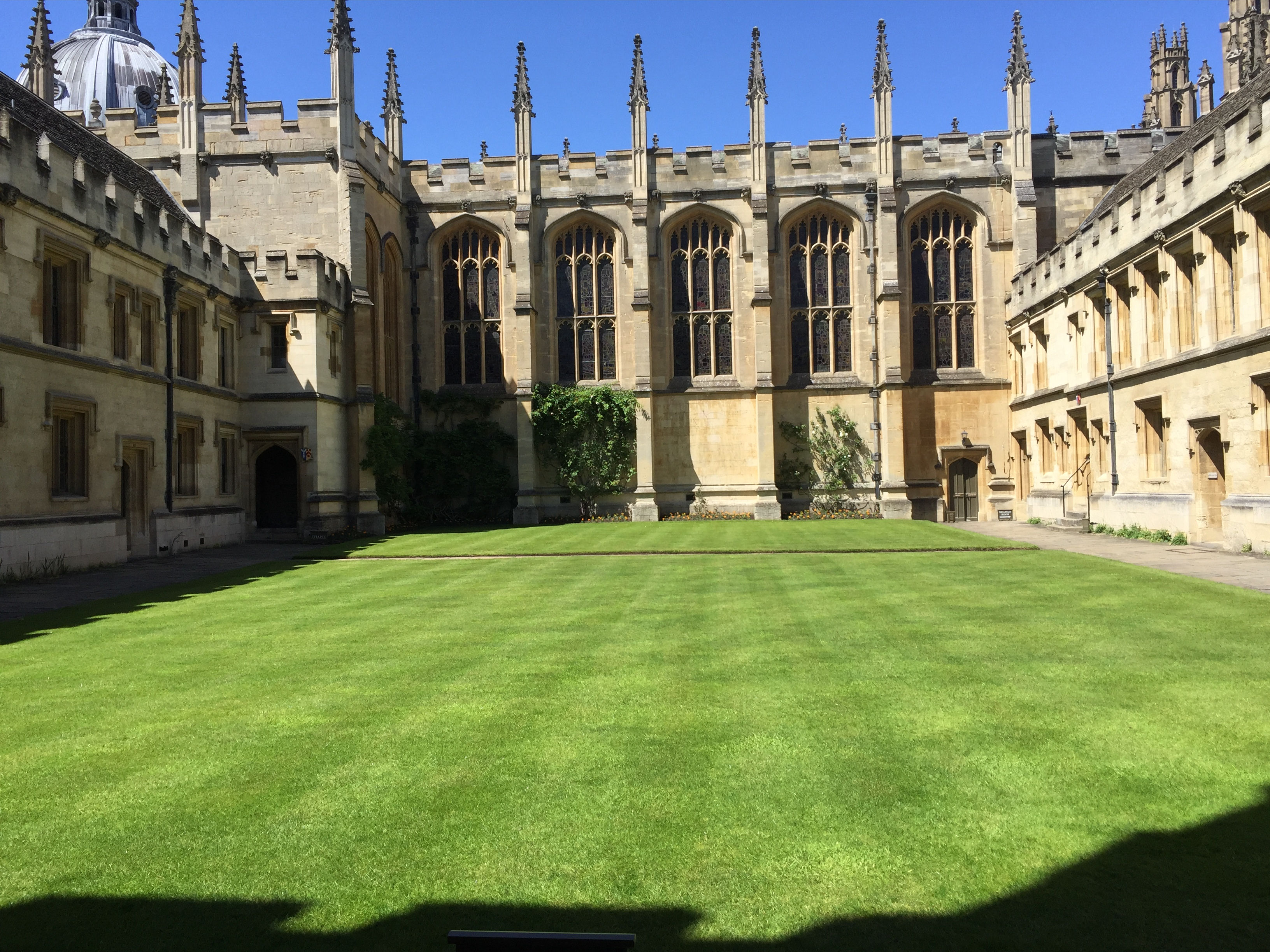 The Great Quad - All Souls College