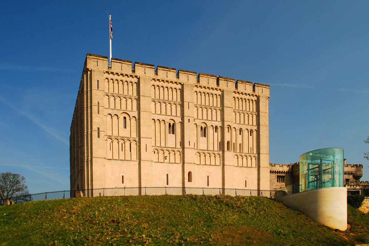 Norwich Castle (Known as The Box on the Hill)