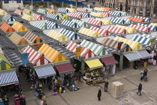 Norwich Market on Gentlemen's Way