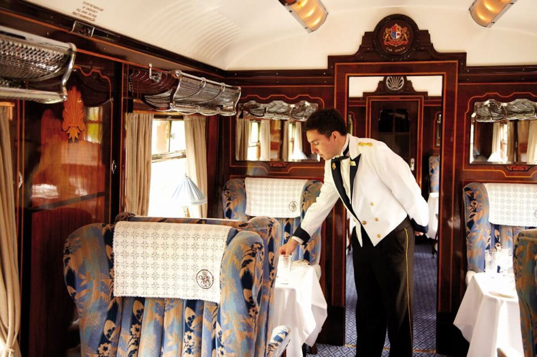 The Pullman Carriage Company uniforms means ultimate luxury travelling